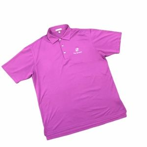 Peter Millar | Solid Stretch Mesh Golf Polo Large
